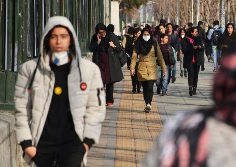 Iran: Tehran, coronavirus outbreak -April 2020
