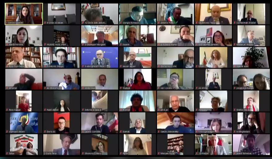 NCRI's online conference over coronavirus in Iran, April 23, 2020