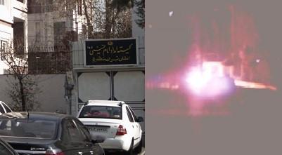 Iran, Tehran: Khomeini's Relief Committee in Tehran's District 5-April 4, 2020