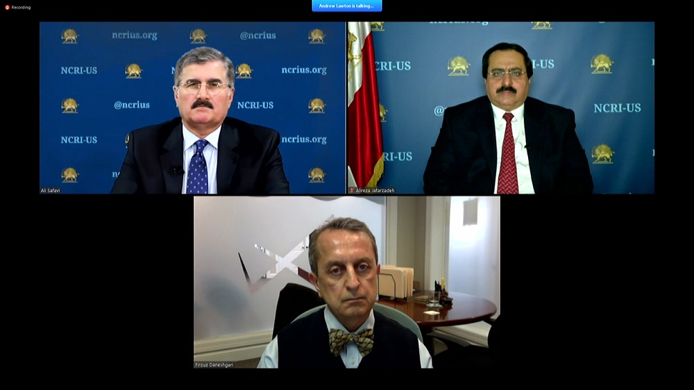 Webinar: Iran Regime Justifies Its Incompetence in Combating Coronavirus on Sanctions