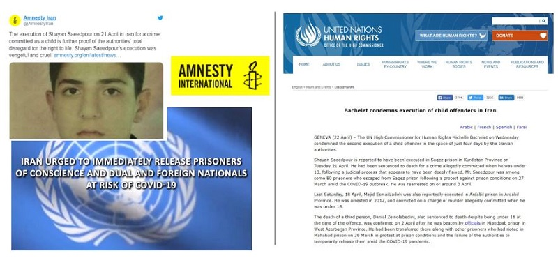 Worldwide condemnation of the Iranian regime's ongoing human rights violations