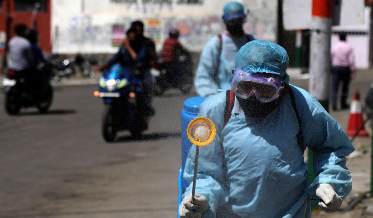 Coronavirus outbreak in Iran- April 2020