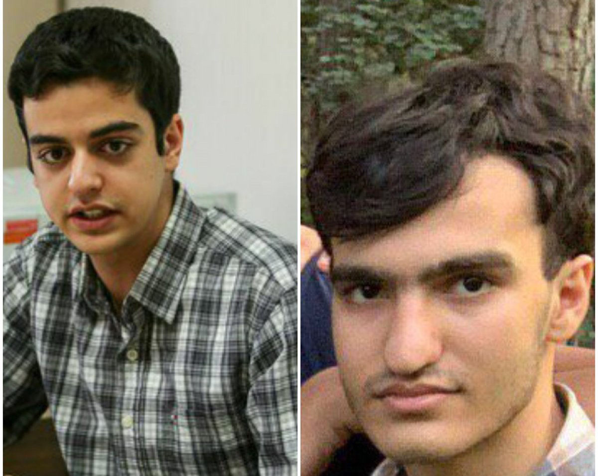 Iran: Mullahs' judiciary admits arrest of Amir Hossein Moradi and Ali Younesi, Sharif University of Technology elite students