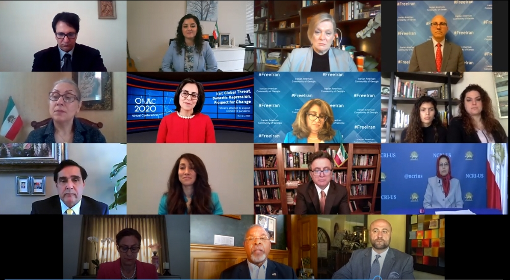 """OIAC online conference: """"Iran: Global Threat, Domestic Repression, Prospects for Change"""""""