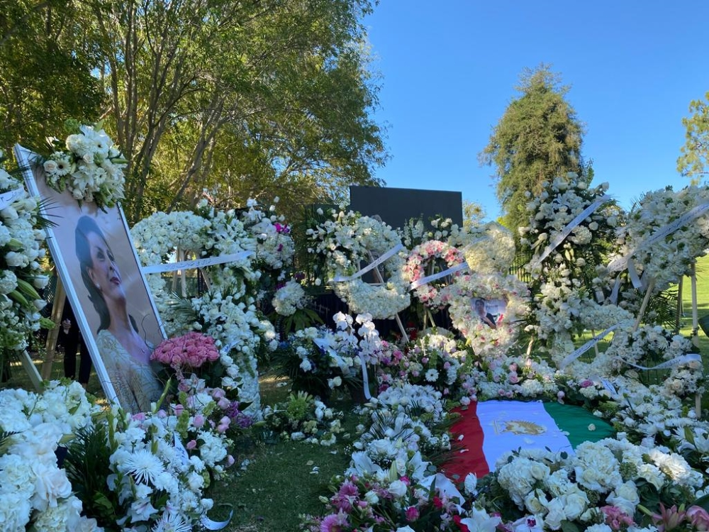 Funeral of Marjan, inspiring Voice of Iran's oppressed women, Was Held in California