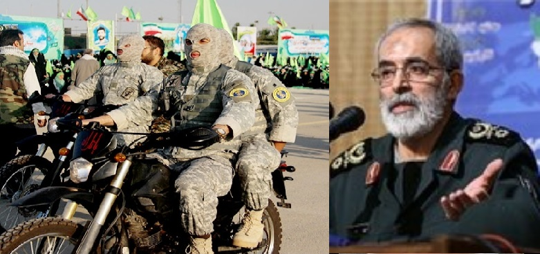 Brigadier General Hossein Nejat as his deputy and acting commander of the IRGC's Sarallah Base in Tehran