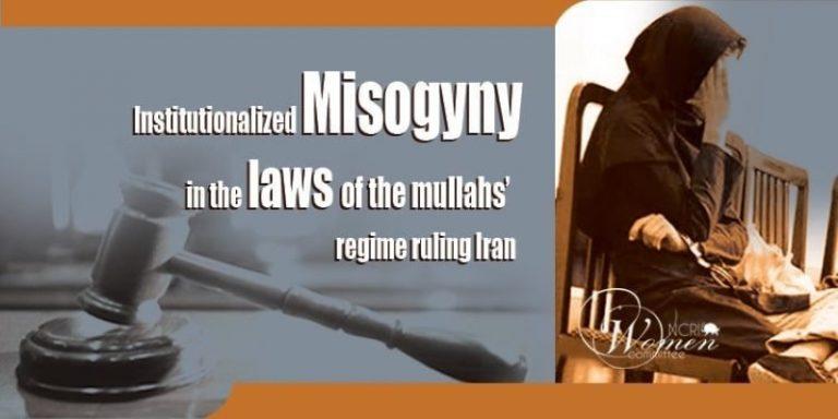 A Glance at Iran Regime's Misogynist Constitution