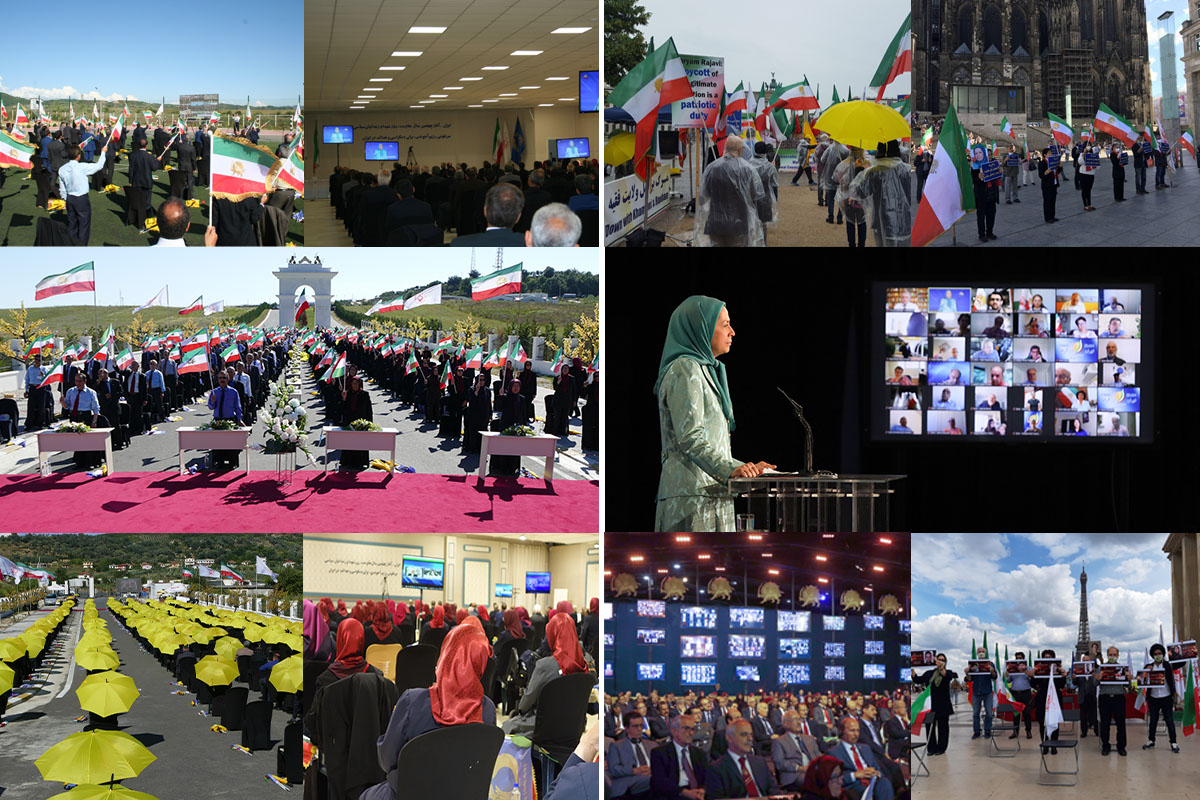 International Online Conference With the Presence of Mrs. Maryam Rajavi at Some 2,000 Locations Around the World