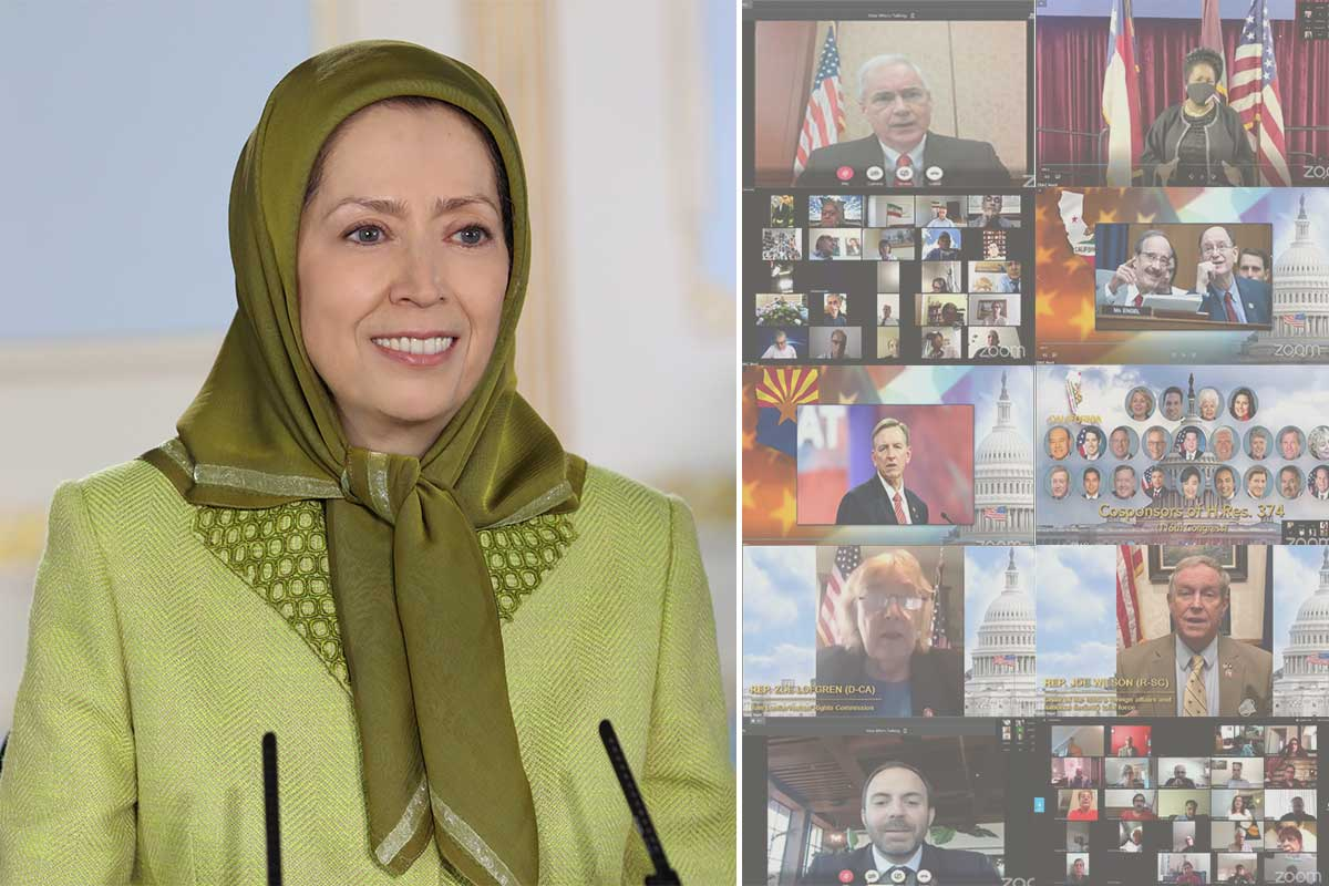 ّMaryam Rajavi: The People of Iran are more determined than ever to continue the struggle for freedom