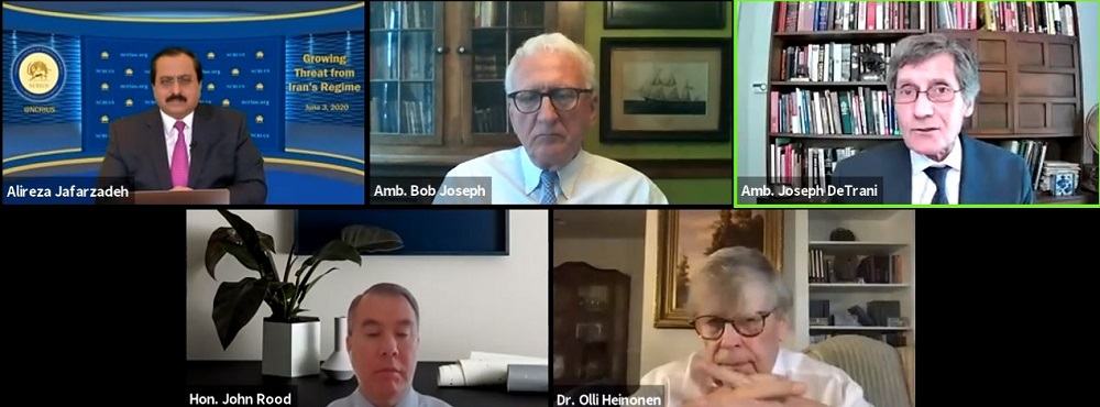 NCRI-US Online Conference: The Growing Threat from Iran's Regime