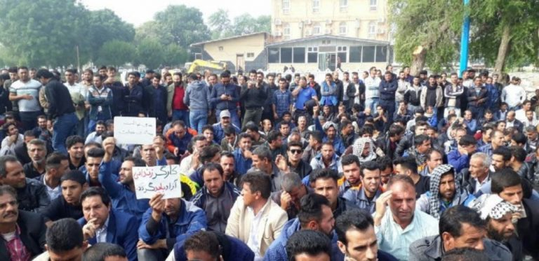 Round-up of Iran protests: Workers hold protests on International Labours' Day