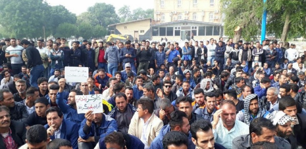Iran: Protes Buruh Melonjak Juli
