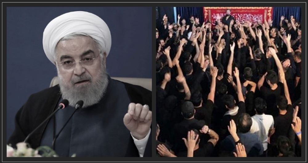 Why Iran Regime's President Rouhani Ordered Ashura Ceremonies to Be Held Amid Rising COVID-19 Death Toll?