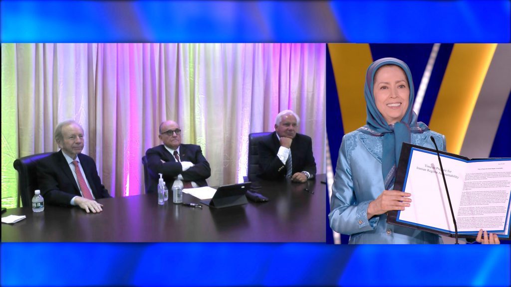 Iran's Regime Tries to Spread Despair Among People With COVID-19, NCRI's Free Iran Global Summit Foiled This – Remarks by Rudy Giuliani