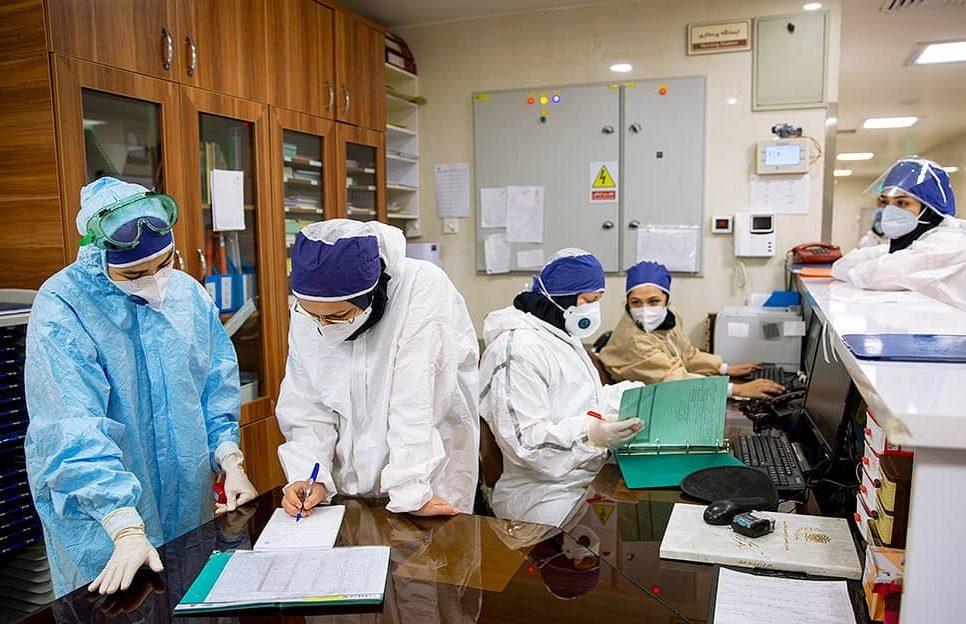 Iran, Coronavirus medical staff
