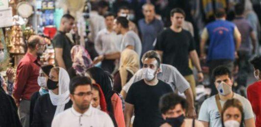 Coronaviru death toll in Iran sept 16