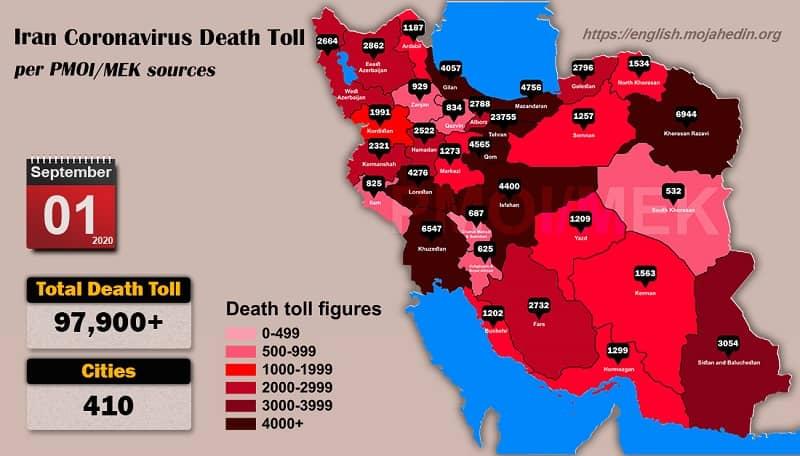 Iran, Coronavirus, Covid-19, IRGC