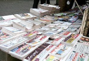 Iran regime's newspapers