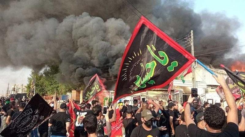 Muharram, Shi'ite, Iraq, Hashd, Maleki, Kazemi, October Revolution