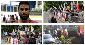 Protest-against-the-brutal-execution-of-the-young-champion-Navid-Afkari