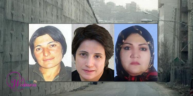 Nasrin Sotoudeh, Fatemeh Mosanna, Zeinab Jalalian