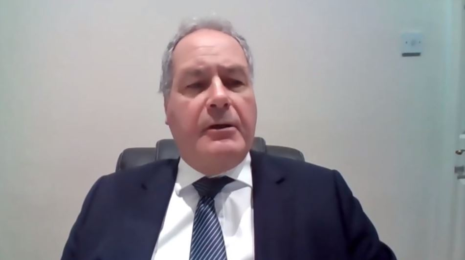 Bob Blackman, MP, addresses the NCRI webinar