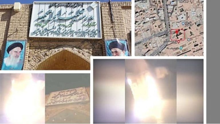 Defiant Youths Target 6 Repressive Centers in Tehran, Mashhad, Kazerun and Kerman