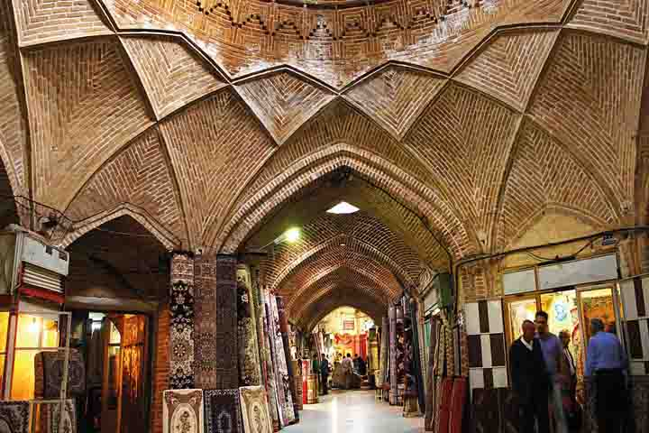 The Bazar of Hamedan city - Hamadan is the capital city of Hamadan Province of Iran. Hamedan is believed to be among the oldest Iranian cities. Because of the failure of the Iranian regime to control COVID-19 pandemic, the coronavirus death toll in Hamedan Province has reached 3,293.