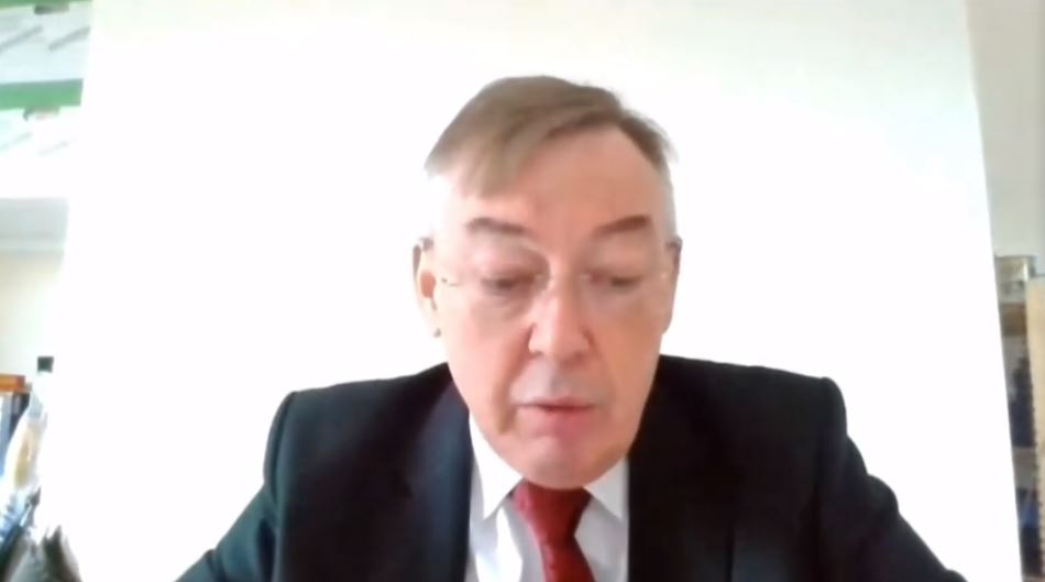 Ian Mearns, MP, addresses the NCRI webinar