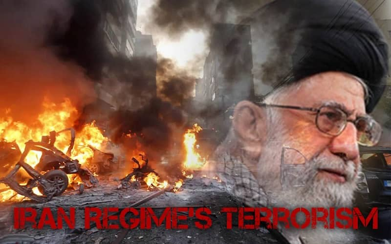 Iranian terrorist Regime