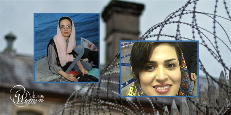Maryam Payab (left) and Fatemeh Khoshrou