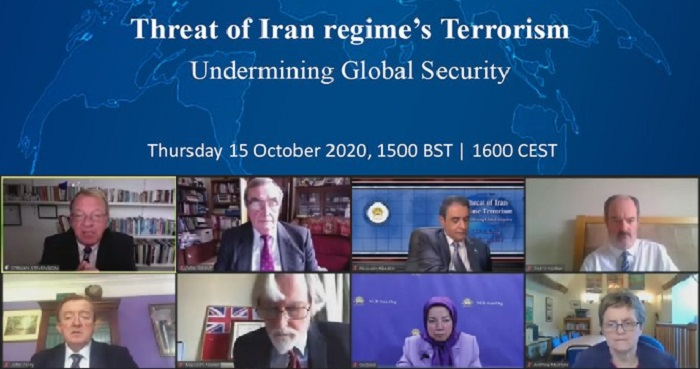 Iran, Live Report: UK Lawmakers in Online Event, Threats of Iran Regime's Terrorism