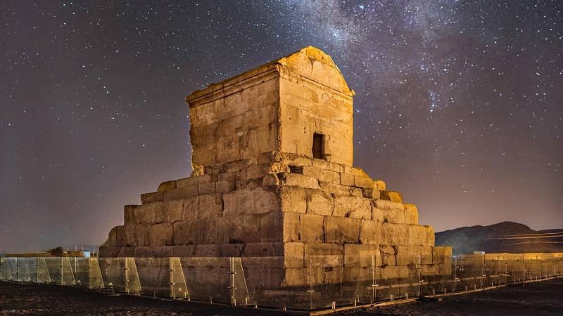 The Tomb of Cyrus in Iran. Yesterday was Cyrus the Great Day, celebrated by Iranians as the day Cyrus, known for his human rights achievements, marched into Babylon. The regime has banned Iranians from visiting his tomb in Shiraz on Cyrus the Great Day since 2017 in fear of anti-government protests.