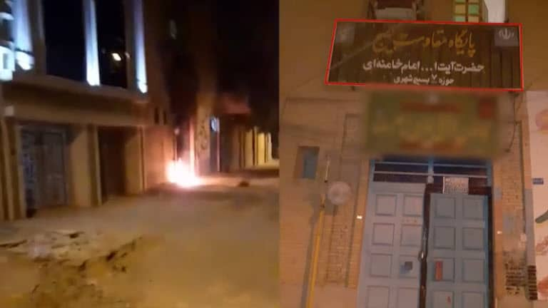 Iran: Defiant Youth Target Regime's Centers of Suppression and Plunder in Tehran, Karaj, Ahvaz, Homayounshahr, and Isfahan