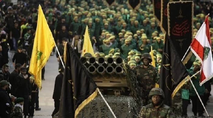Hezbollah stages military parade in Lebanon