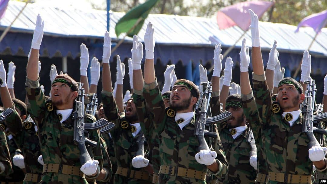 IRGC, the repressive force