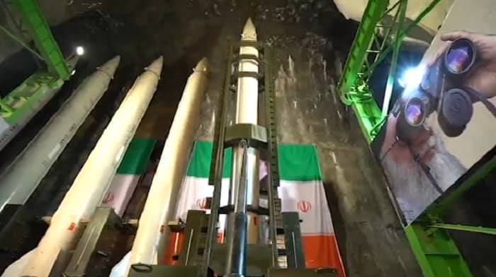 The IRGC's long-range ballistic missile