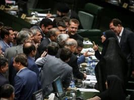 The Iranian regime's parliament's public session on Wednesday and faction infighting once again reflected the regime's crisis's depth.