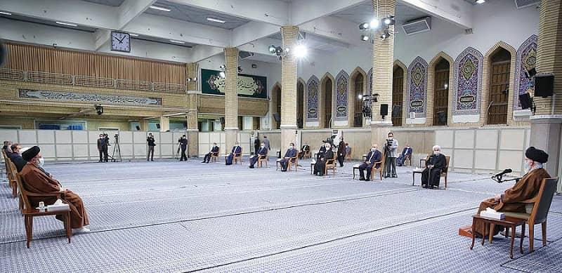 Khamenei's meeting with Iranian regime's officials - November 24, 2020
