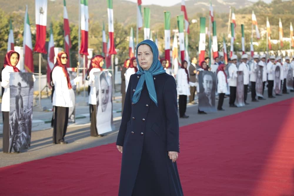 Maryam Rajavi, president -elect of the NCRI