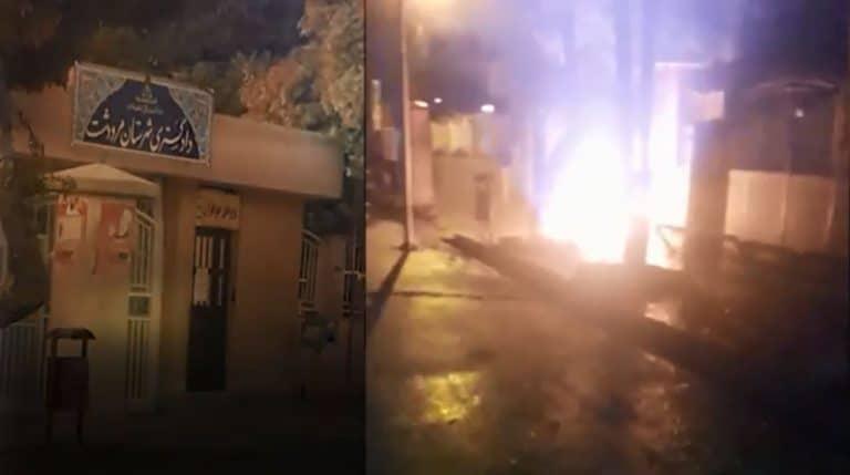 Iran: Defiant Youth Attack Regime's Symbols of Suppression and Theft in Tehran, Marvdasht, Kish, Sabzevar and Izeh
