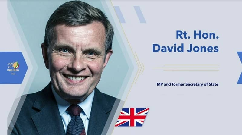 Rt. Hon. David Jones, a former Minister in the United Kingdom and Member of Parliament