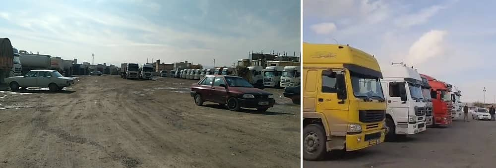 Iran - Drivers of fuel tankers on strike