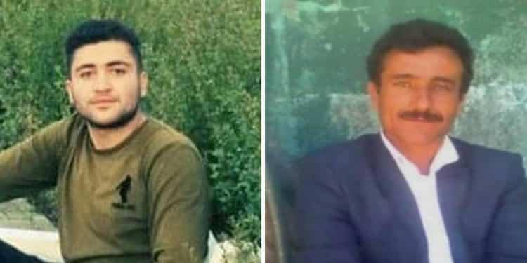 Left: Behzad Mohammadi, Right: Farzad Saaduzadeh