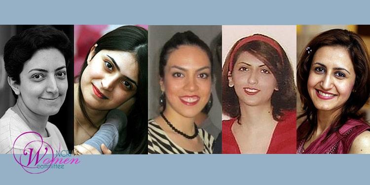 Dari kiri, Naghmeh Zabihian, Nika Pakzadan, Nakisa Hajipour, Farzaneh Daneshgari, dan Sanaz Es'haghi