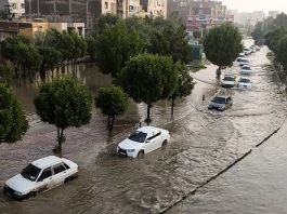 Heavy rainfalls in recent days in Khuzestan province, south-west Iran