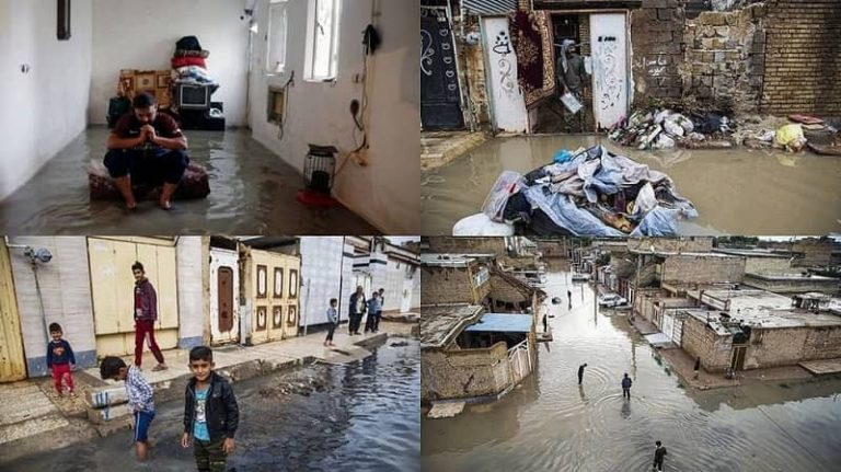 Flood in Southwest Iran: Mullahs' Regime Takes No Action