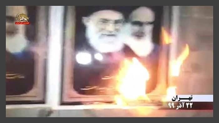 Iran: Defiant Youths Target Regime Repression Centers in Isfahan, Lahijan, Neyshabur, Hamedan, Gachsaran, and Qom