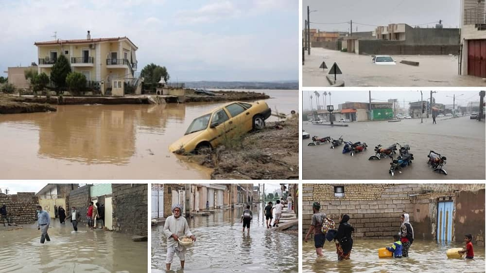 Floods in southern cities of Iran - December 2020