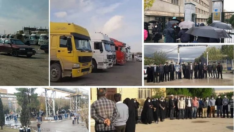 Round-up of Iran Protests: December 5 – 8